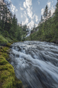 Italy, Alps, Dolomites, Waterfall of fiames - RPSF00104