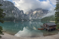 Italy, South Tyrol, Dolomites, Lago di Braies, Fanes-Sennes-Prags Nature Park - RPSF00107