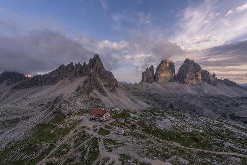 Italy, Sexten Dolomites, Tre Cime di Lavaredo, Nature Park Tre Cime - RPS00113