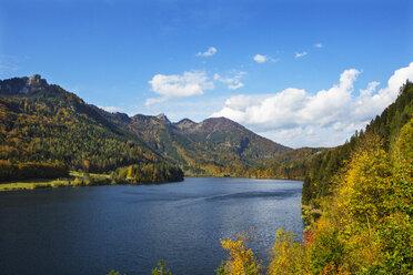 Austria, Upper Austria, Salzkammergut, St. Wolfgang, Schwarzensee, Schafberg - WWF04088