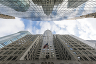 USA, New York City, Manhattan, skyscrapers - RPSF00140