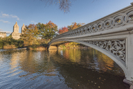 USA, New York City, Manhattan, bridge in Central Park - RPSF00158