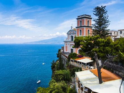 Italy, Campania, Naples, Gulf of Naples, Vico Equense, Church Chiesa della Santissima Annunziata - AMF05595