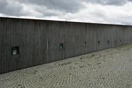 Germany, Bavaria, Munich, concrete wall at the trade fair riem - AXF00801