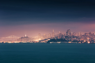 USA, California, San Francisco, skyline - WVF00886