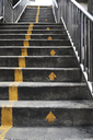 Stairs with yellow arrows - IGGF00367