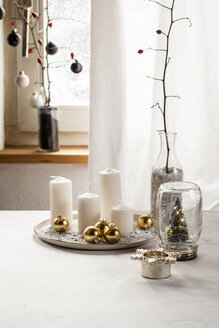 Christmas decoration on table - SBDF03436