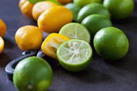 Sliced and whole kumquats and limequats - CSF28700