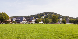 Germany, Baden-Wurttemberg, Black Forest, Hinterzarten climate spa - WDF04268