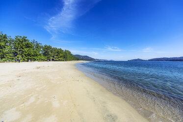 Japan, Kyoto Prefecture, Amanohasidate, beach - THAF02082