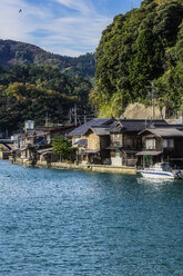 Japan, Kyoto Prefecture, fishing village Ine, townscape - THAF02085