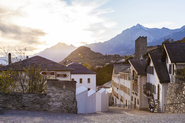 Switzerland, Canton Vaud, Sion, townscape, old town - WDF04308