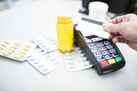 Cashless payment of medicine in a pharmacy - WESTF23975