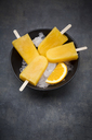 Homemade orange popsicles - LVF06605