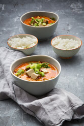 Red curry dish with smoked tofu - LVF06607