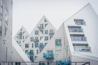 Denmark, Aarhus, modern multi-family houses - KEB00710