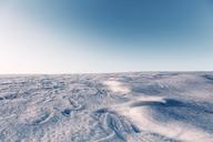 Austria, Mondsee, empty winter landscape - WVF00899