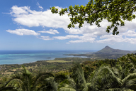 Mauritius, View fro Chamarel view-point on west coast and La Preneuse - FOF09752