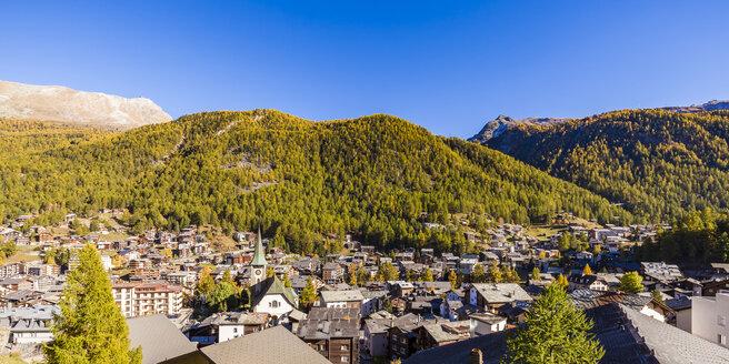 Switzerland, Valais, Zermatt, townscape - WDF04321
