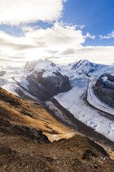 Switzerland, Valais, Zermatt, Monte Rosa, Monte Rosa massif, Monte Rosa Glacier, Border Glacier, Gorner Glacier - WDF04339