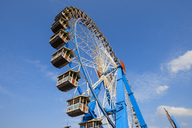 Germany, Munich, ferris wheel at the Oktoberfest - SIEF07673