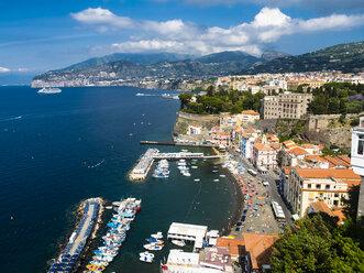 Italy, Campania, Amalfi Coast, Sorrent, Bleu Village, Marina Piccola - AMF05604