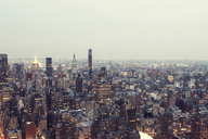 USA, New York City, Manhattan in the evening - CMF00780