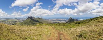 Mauritius, Le Pouce Mountain, Snail Rock and Port Louis - FOF09796