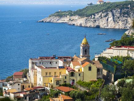 Italy, Campania, Gulf of Salerno, Sorrent, Amalfi Coast, Punta Lagno, Massa Lubrense and Santa Maria delle Grazie - AMF05607