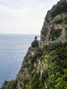 Italy, Campania, Gulf of Salerno, Sorrent, Amalfi Coast, Positano, cliff coast, Tordigliano Belvedere - AMF05613