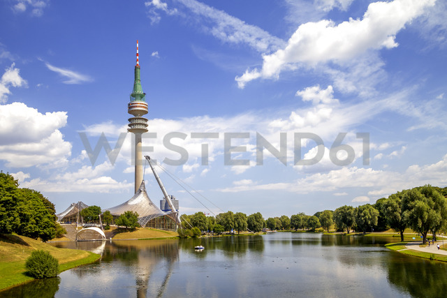 Germany, Bavaria, Munich, Olympic Park - PUF01166