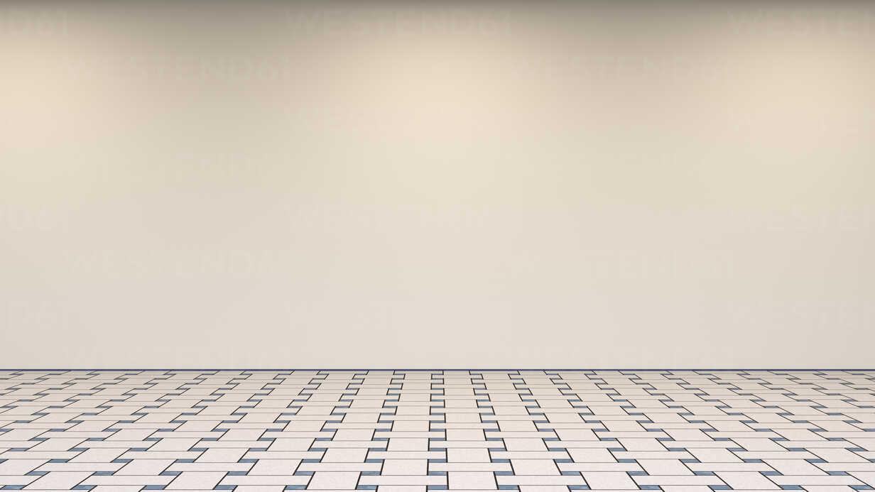 Empty room, 3d rendering - UWF01361 - HuberStarke/Westend61