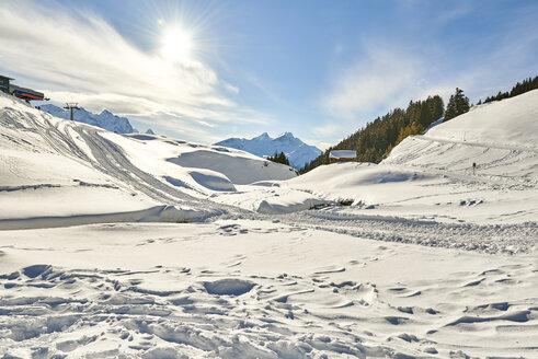 Switzerland, Bern, Hasliberg, winter landscape - JEDF00301