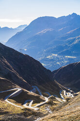 Switzerland, Valais, Alps, Gotthard pass - WDF04384