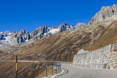 Switzerland, Valais, Alps, Furka pass - WDF04390