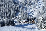 Austria, Tyrol, Ziller Valley, Hochfuegen, Ski area, Montana Alp, Aar Alp - LBF01751