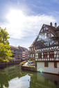 France, Alsace, Strasbourg, Old town, Petite France - PUF01278