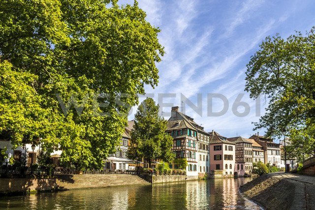 France, Alsace, Strasbourg, Old town - PUF01281