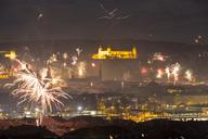 Germany, Bavaria, Wuerzburg, New Year's Eve - NDF00746