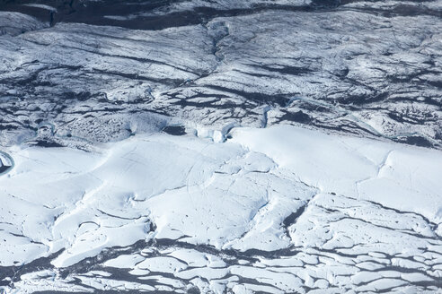 USA, Alaska, Aerial view of Ruth Glacier - MMAF00277