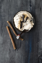 Liquorice ice cream, liquorice powder and liquorice roots - MYF02002