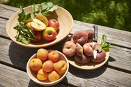 Apples, apricots and doughnut peaches - SRSF00651