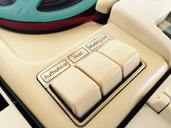 Old vintage tape recorder - JTF00904