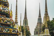 Thailand, Bangkok, pagodas of Wat Pho temple - KKAF00855