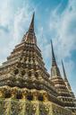 Thailand, Bangkok, pagodas of Wat Pho temple - KKAF00858