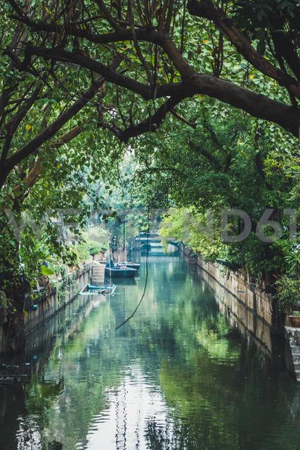 Thailand, Bangkok, river in the city - KKAF00861