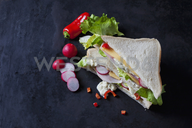 Sandwich with ham and cheese - CSF28897