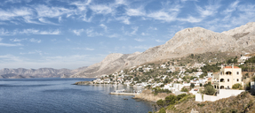 Greece, Kalymnos, coastal town - ALRF00917