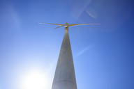 Low angle view of a wind turbine - ZEF14959