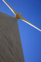 Low angle view of a wind turbine - ZEF14962